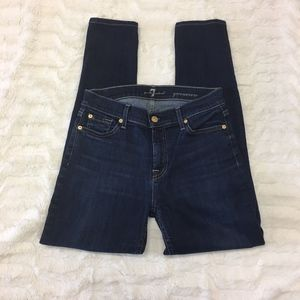 7 For All Man Kind Gwenevere High Rise Jeans